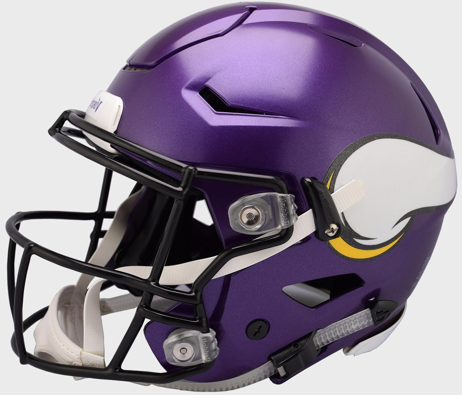 minnesota vikings nfl speedflex football helmet w