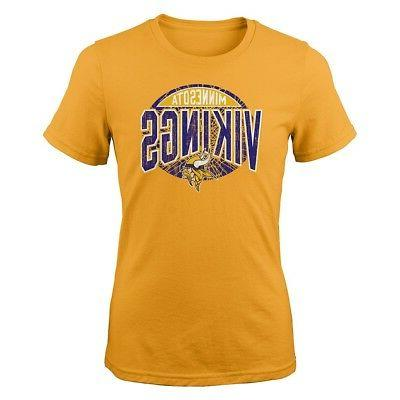 minnesota vikings nfl youth yellow totally cool