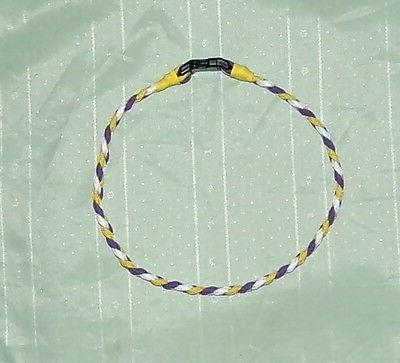 minnesota vikings paracord necklace or bracelet