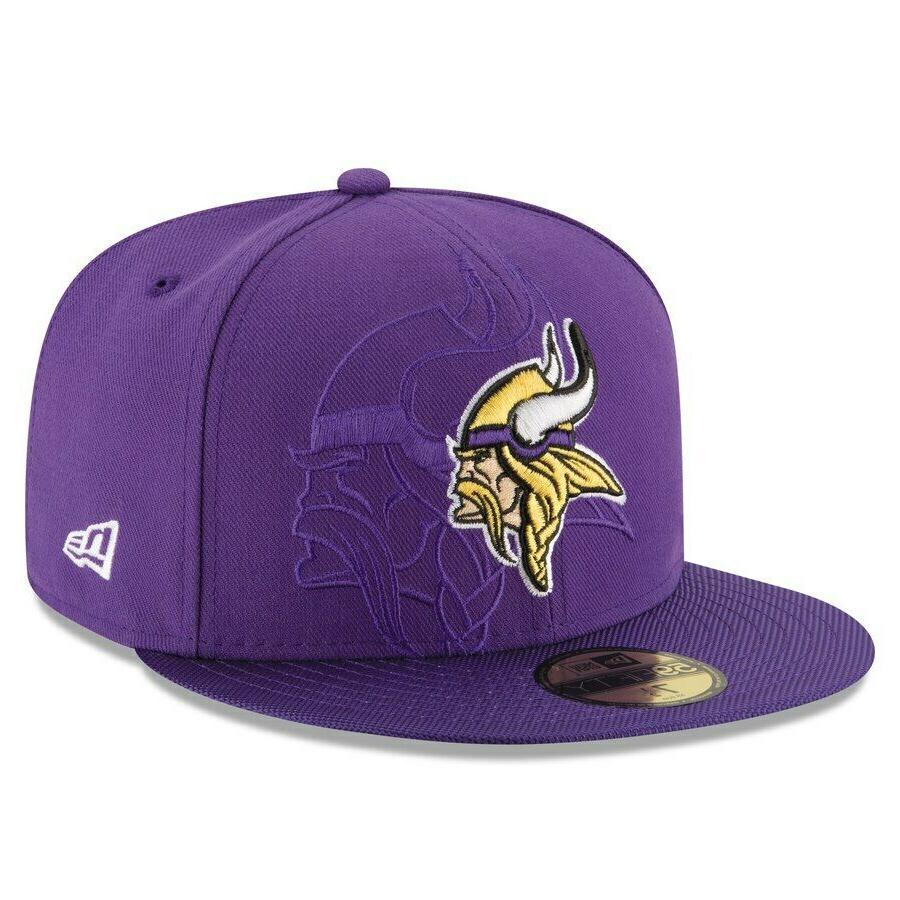 Minnesota Vikings Purple New Era NFL 2016 59FIFTY Hat