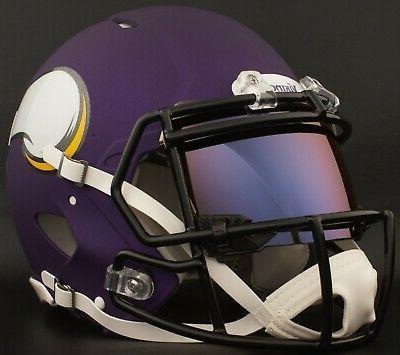 MINNESOTA VIKINGS SHOC 2.0 Football Helmet Shield / Visor