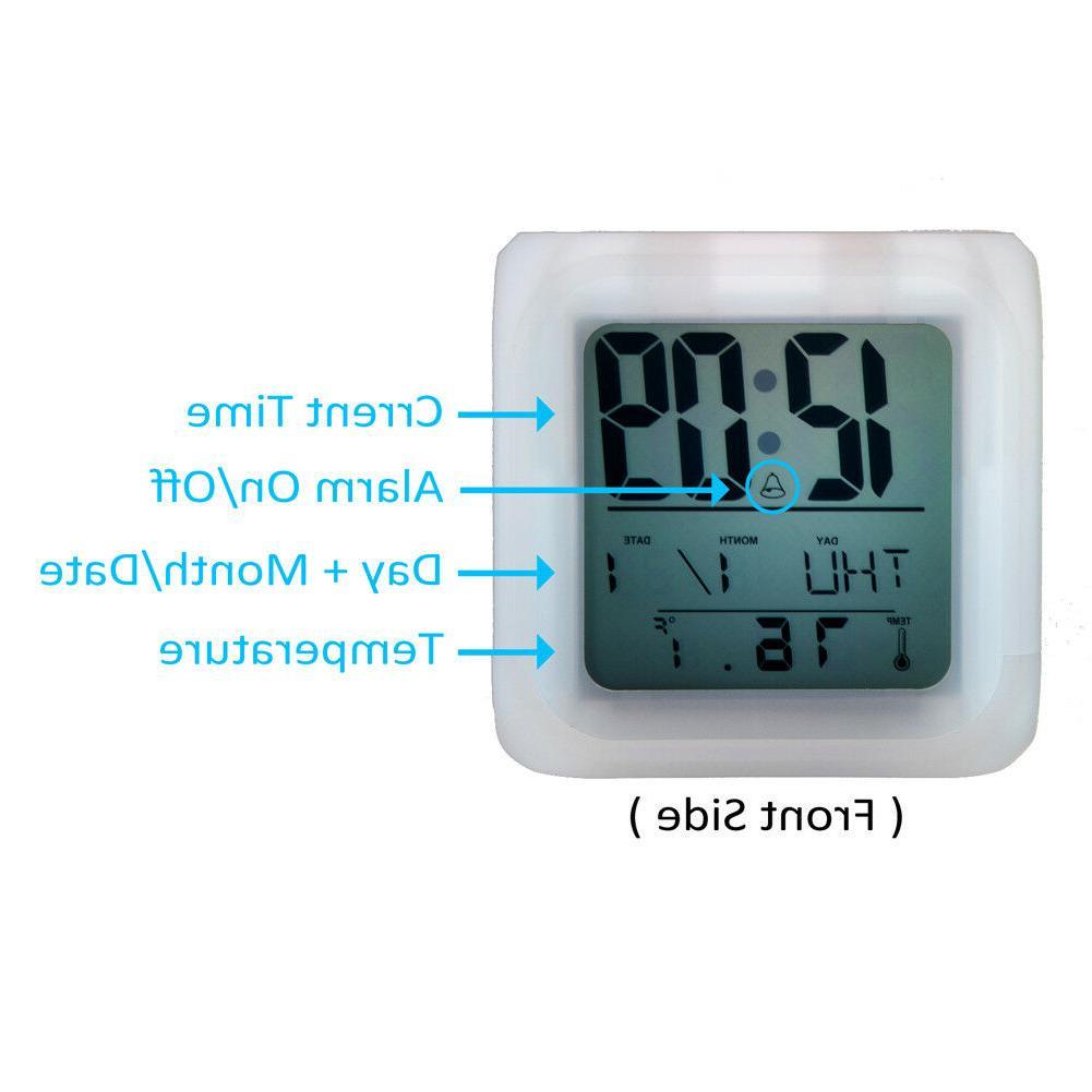 Minnesota Alarm Digital Clock Night