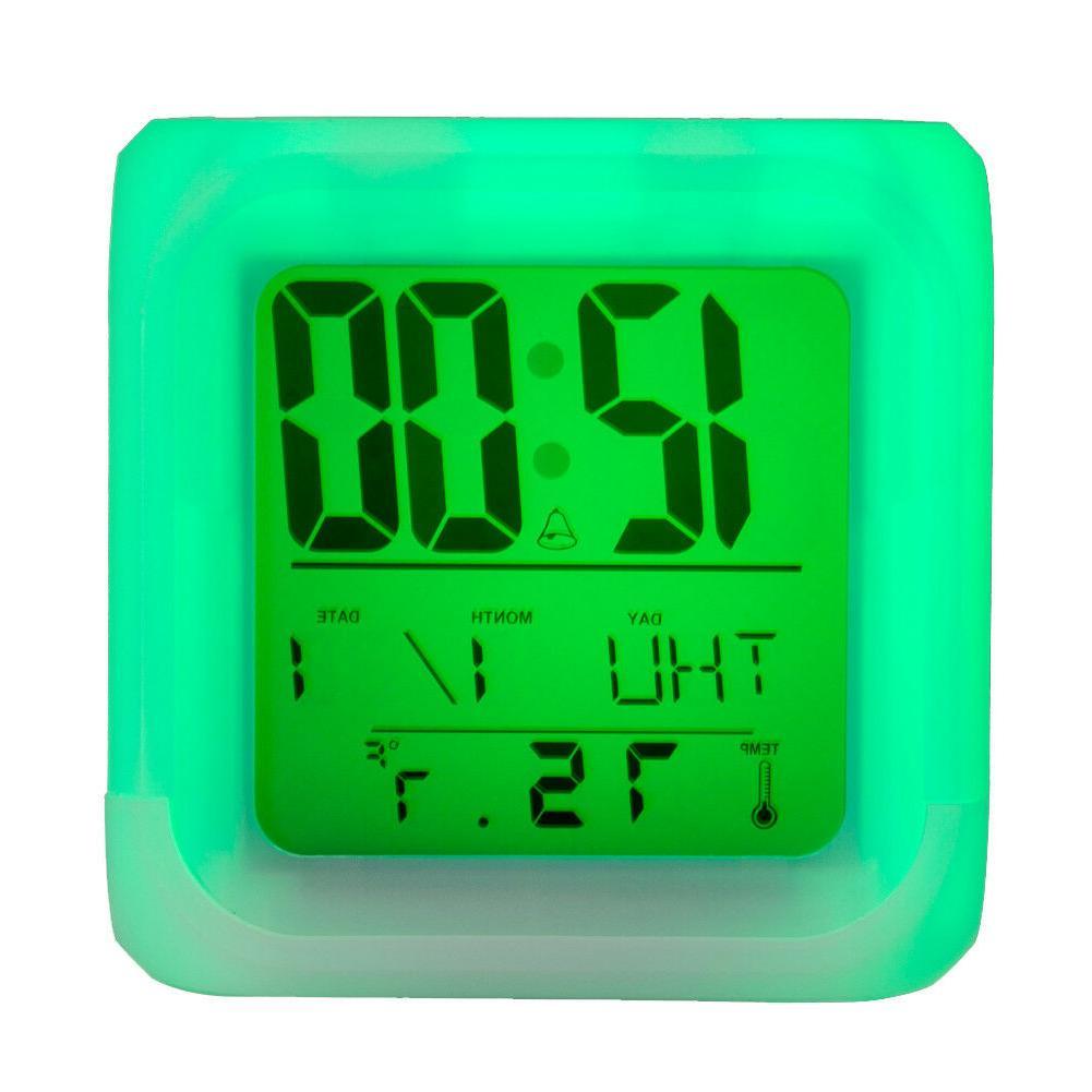 Minnesota Vikings Sport Digital Clock Night