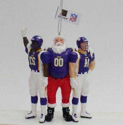 minnesota vikings team celebration holiday ornament