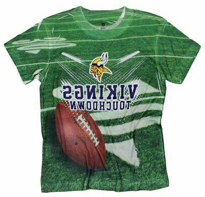 minnesota vikings touchdown youth t shirt shirt