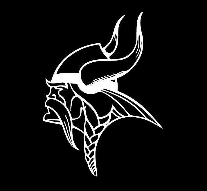 Minnesota Vikings / Decal * * North * Football *