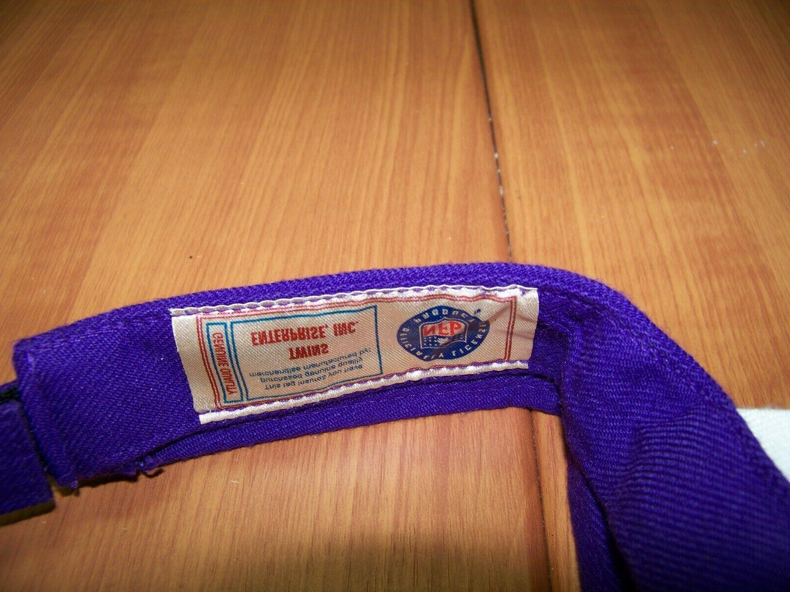 Minnesota Vikings Visor Adj Strap - Officially Licensed Product
