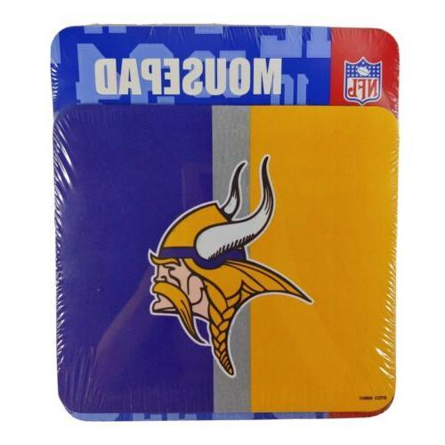 minnesota vikings yellow purple mouse pad 2004