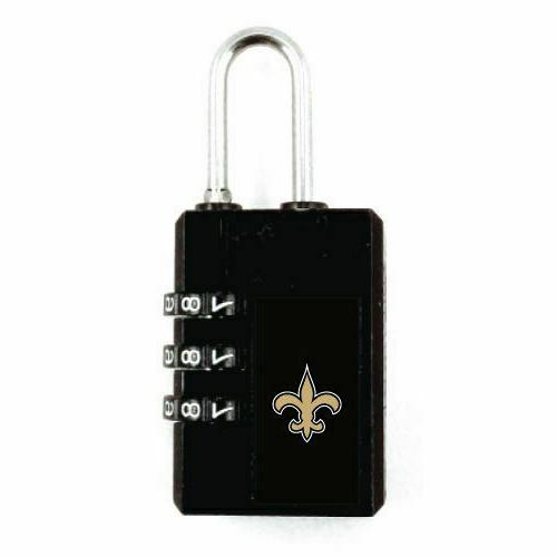 new nfl luggage security lock tsa accepted