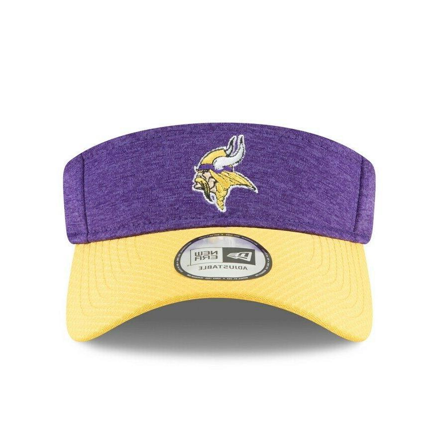 Minnesota Vikings New Era Home Sideline Visor Hat - Free Shi