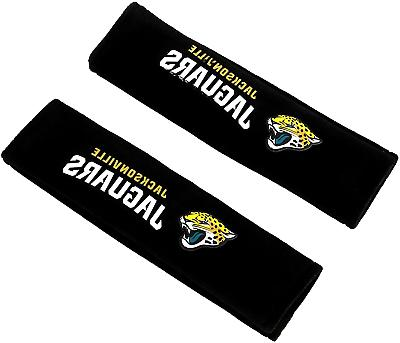 NFL Jacksonville Jaguars Pads Car Seat Belt Interior Auto Ac