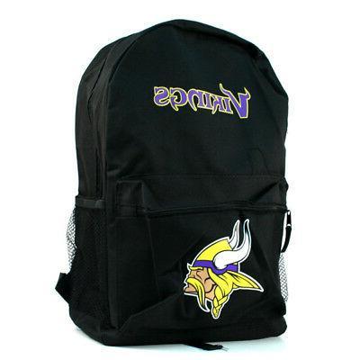 nfl minnesota vikings backpack back pack full