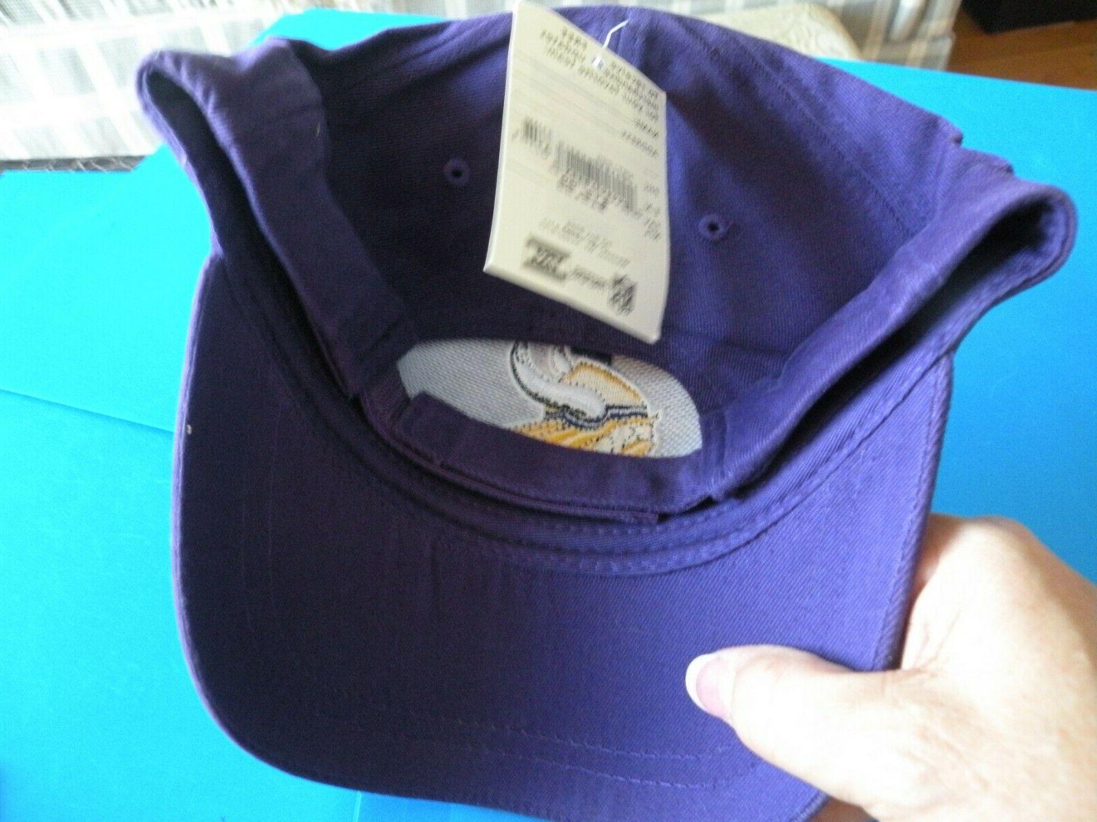 NFL Minnesota Vikings Baseball Cap Adult Brand New B3