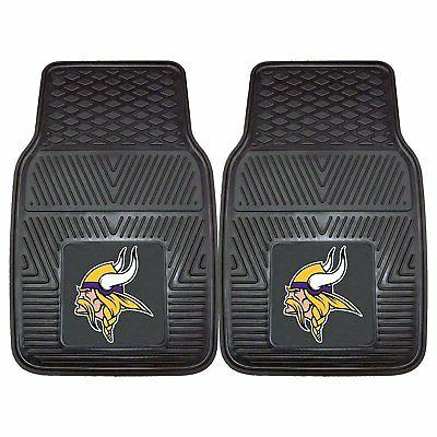 NFL Vikings Truck Rubber Floor Mats & Wheel Set