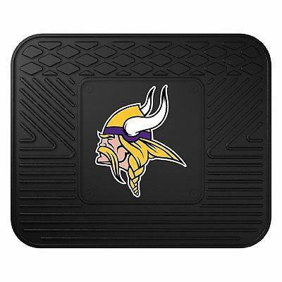 NFL Minnesota Vikings Floor Mats Wheel Cover & Air Set
