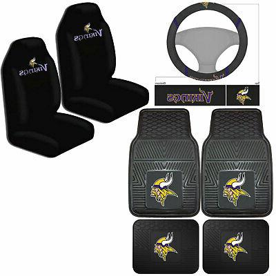 nfl minnesota vikings car truck seat covers