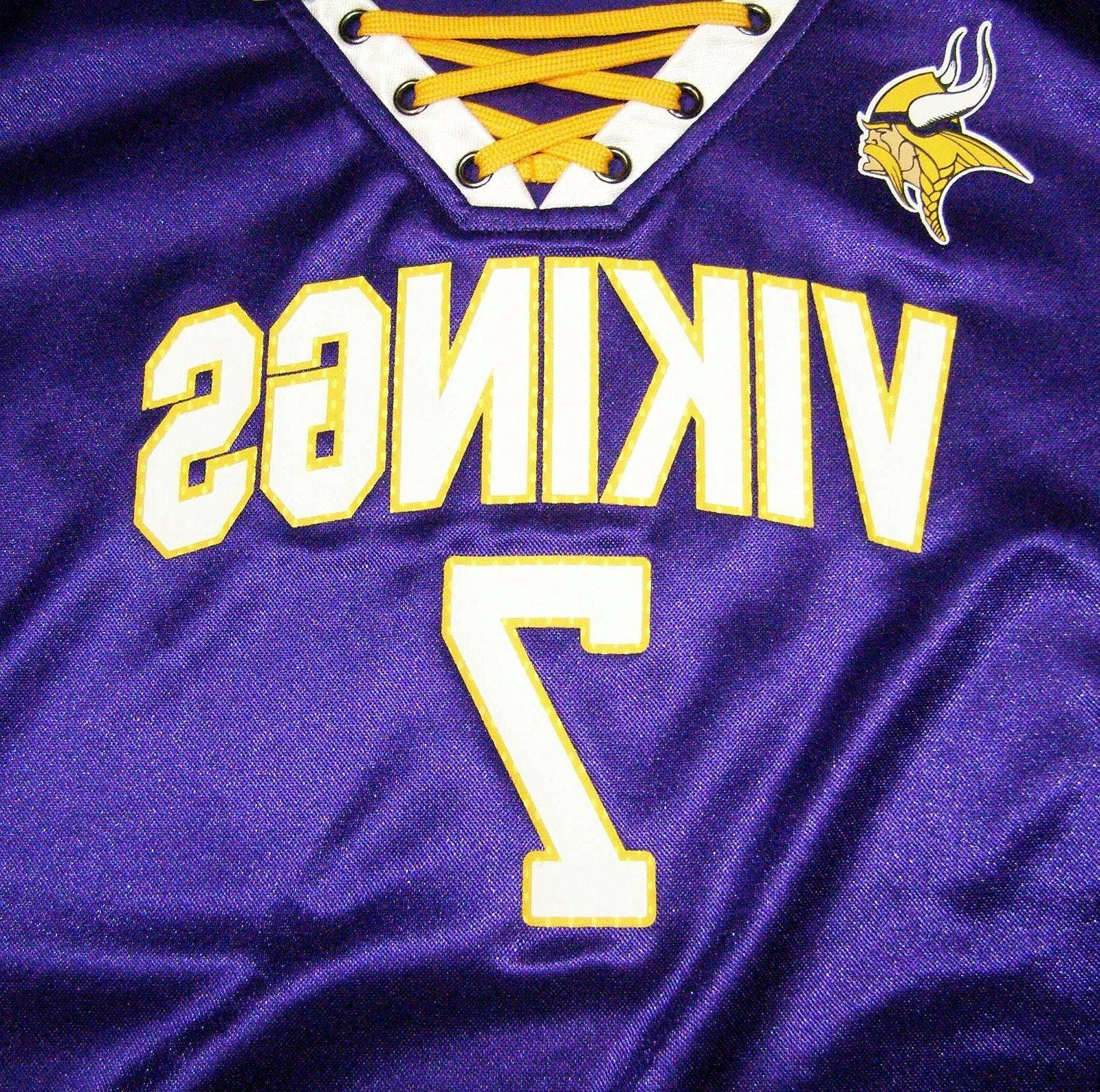 NFL Minnesota Vikings Keenum #7 Me Jersey