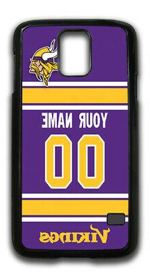 NFL Minnesota Vikings Personalized Name/Number Samsung Phone