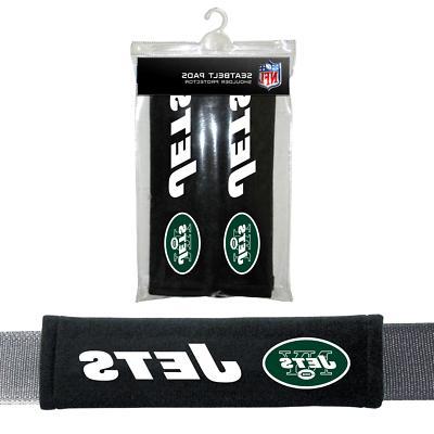 NFL New York Jets Pads Car Seat Belt Interior Auto Accessori