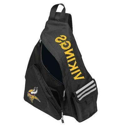 nwt nfl minnesota vikings leadoff slingbag sling