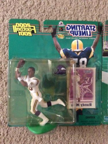 RANDY MOSS Minnesota Vikings NFL 1999 2000 2000 2001 Figures