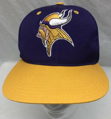 vintage minnesota vikings snapback nfl hat baseball