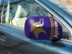 Licensed NFL Minnesota Vikings Car Mirror Covers  - Trucks/L
