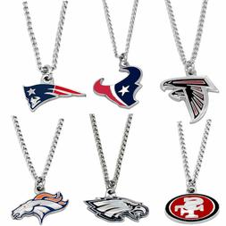 logo necklace charm pendant nfl pick your