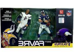 "McFARLANE NFL 2-Pack Collection_BRETT FAVRE 6"" figures_Minne"