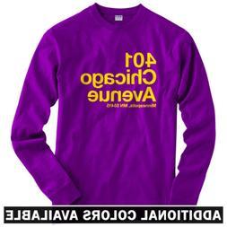 Minnesota Football Stadium Long Sleeve T-shirt - LS Men S-4X
