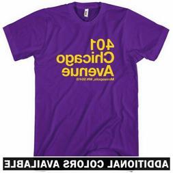 Minnesota Football Stadium T-shirt - Men S-4X - Gift Fan Vik