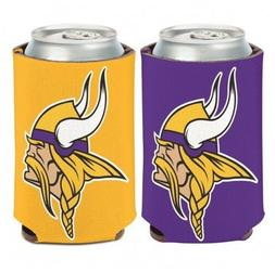 MINNESOTA VIKINGS 2 SIDED CAN COOLER/KOOZIE NEW AND OFFICIAL