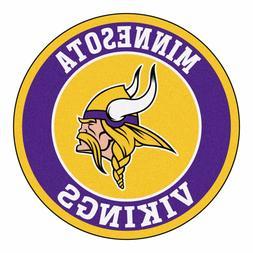 """Minnesota Vikings 27"""" Roundel Area Rug Floor Mat"""
