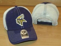 Minnesota Vikings '47 Brand Canyon Mesh Snapback Hat Cap Men