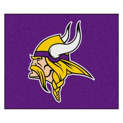 Minnesota Vikings 5' X 6' Tailgater Area Rug Floor Mat