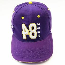 minnesota vikings 84 moss nfl baseball cap