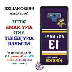 Minnesota VikingsA18 Personalized Football Phone Case Cove