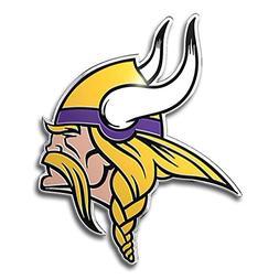 Minnesota Vikings Color Auto Emblem - Die Cut