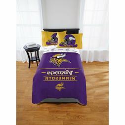 Minnesota Vikings Bedding NFL Licensed Comforter Twin Full B
