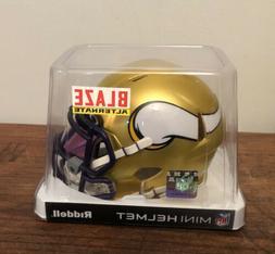 Minnesota Vikings Blaze Speed Mini Football Helmet Riddell N