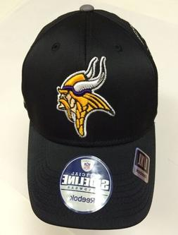 Minnesota Vikings Cap Reebok Official Fitted Sideline Headwe