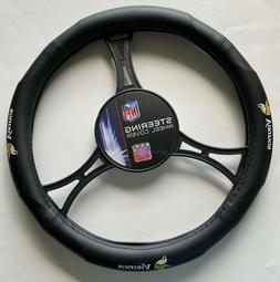 Minnesota Vikings  Car Truck Black Steering Wheel Cover NFL