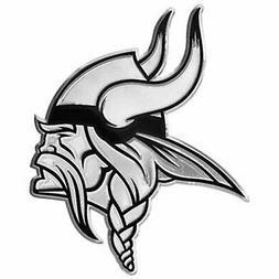Minnesota Vikings Chrome Auto Emblem