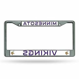 Minnesota Vikings Chrome Frame