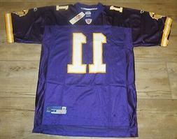 Minnesota Vikings Dante Culpepper #11 Home Football Jersey s