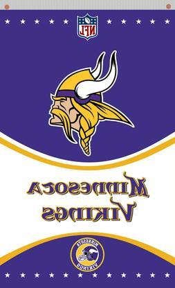 Minnesota Vikings Football Memorable vertikal flag 90x150cm