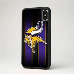 Minnesota Vikings Football Soft Silicone Phone Cover Case fo