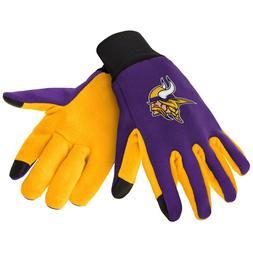 Minnesota Vikings NFL Team Football Texting Tech Gloves Offi