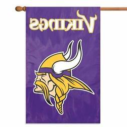minnesota vikings house banner flag premium outdoor
