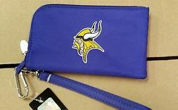 Minnesota Vikings ID Wallet Wristlet Cell Phone Case Charm 1